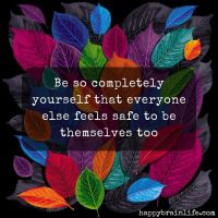 Be Completely You