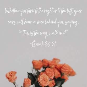 Isaiah 30:21